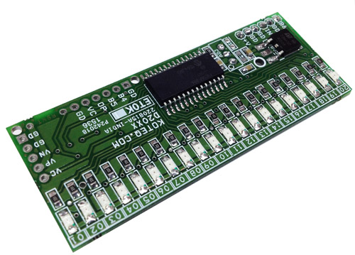 0 To 1Amp Bar-Graph Current Monitor Using 20 LEDs & PIC16F886 Micro-controller (2)