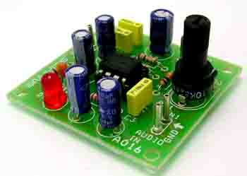 1.2W AUDIO AMPLIFIER USING TBA820 (2)