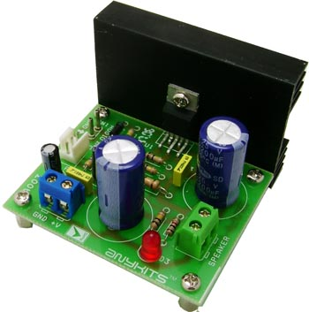 12w Audio Amplifier Circuit Based On Tda2006 Circuit Ideas I
