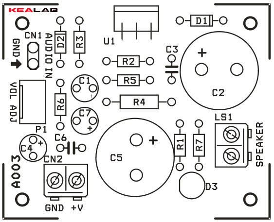 12w audio amplifier circuit based on tda2006