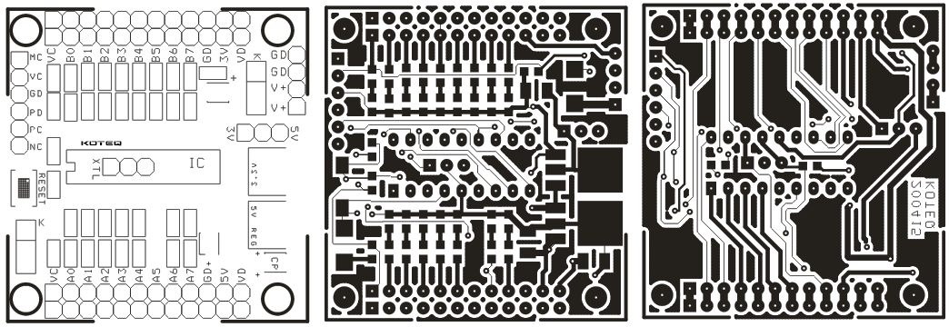18 PIN PIC Board PCB