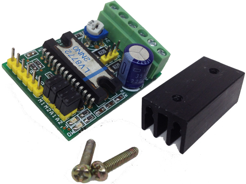 2.5A Bipolar Stepper Motor Driver with Micro-Steppeing Using LV8772 (3)