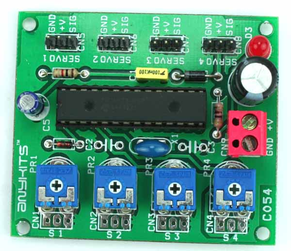Motor driver dc archives circuit ideas i projects i for Dc motor servo controller