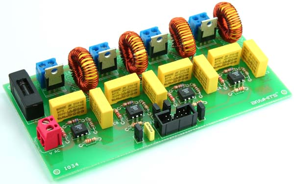 4 channel optically isolated traic board (4)