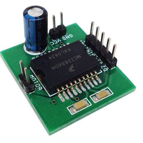 5A Brushed DC Motor Driver H-Bridge Module (1)