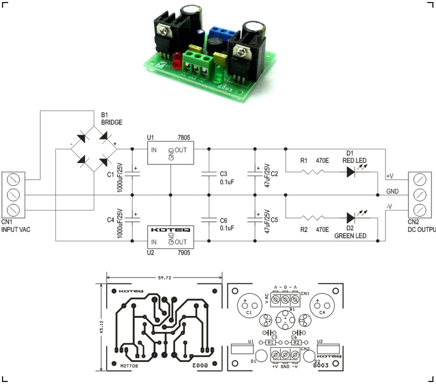 5vdc Power Supply Schematic Wiring Diagrams Best