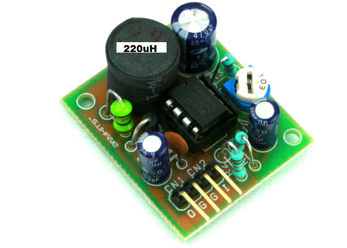 5V OUTPUT STEP DOWN DC-DC CONVERTER USING MC34063 (3)