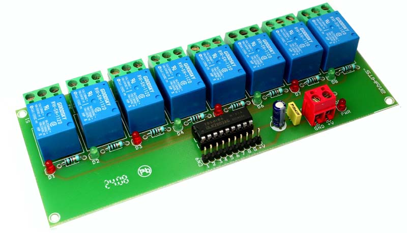 8 CHANNEL RELAY BOARD USING ULN2803 (1)