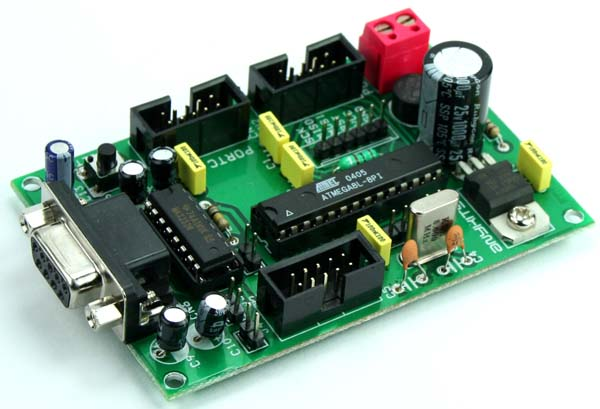 ATMEGA 8L DEVELOPMENT BOARD (1)