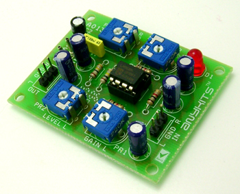 Small Signal Amplifier (Pre-Amplifier) For Audio Signal - Circuit ...