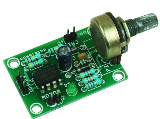 CLOSED LOOP ANALOG DC SERVO MOTOR DRIVER USING TLE4209A (1)