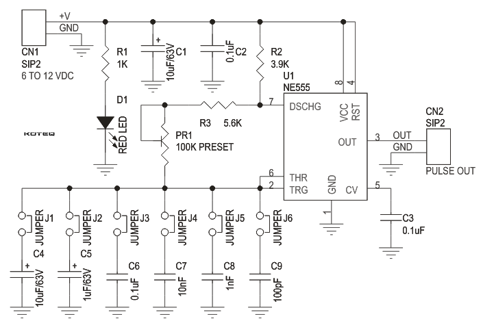 Simple function generatorpulse generator using 555 timer ic with d009 sch jumpersettings cheapraybanclubmaster Images