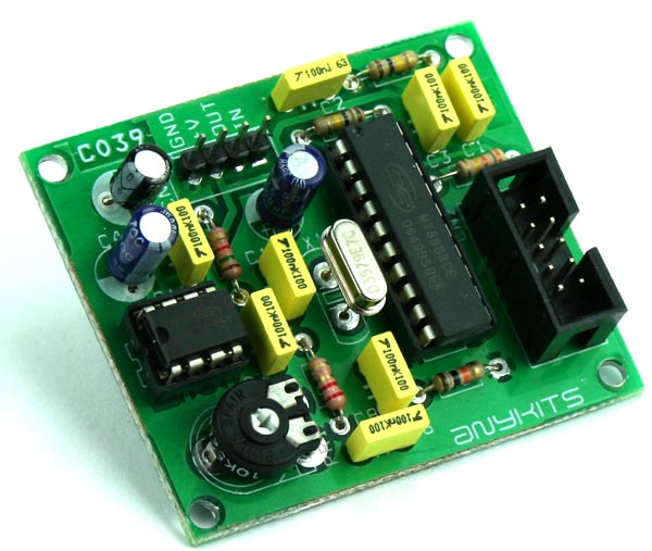 DTMF DEVELOPMENT BOARD FOR MICRO-CONTROLLER INTERFACE (2)