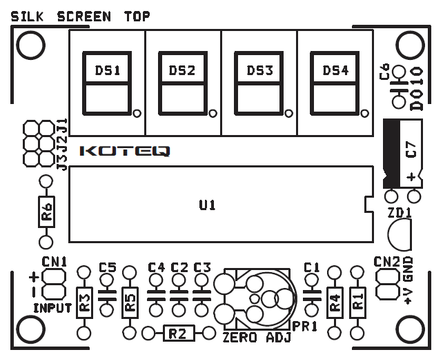Digital_Panel_Meter_PCB_SILK