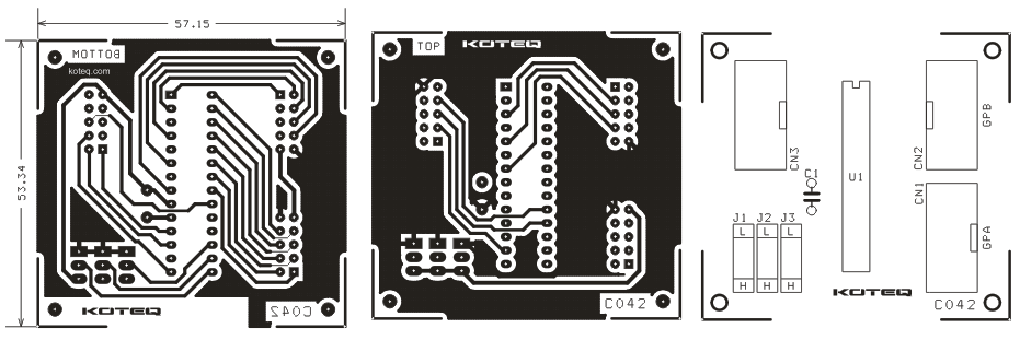 I/O Exapnder Board Using MCP23S17 - Circuit Ideas I Projects