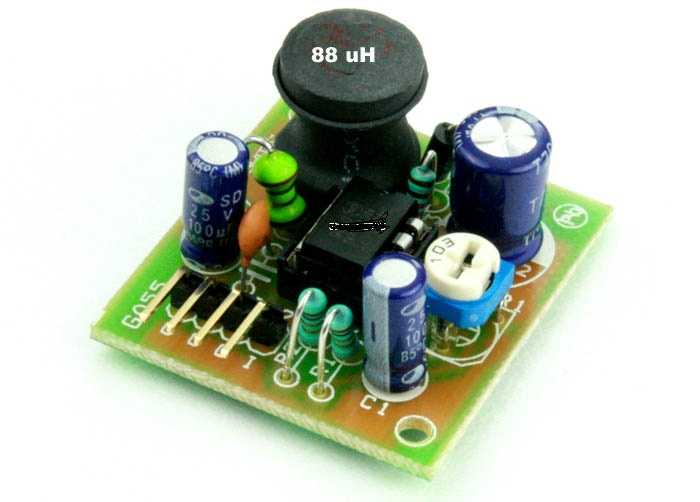 INVERTING OUTPUT SWITCHING REGULATOR 5V TO -12V OUTPUT (2)