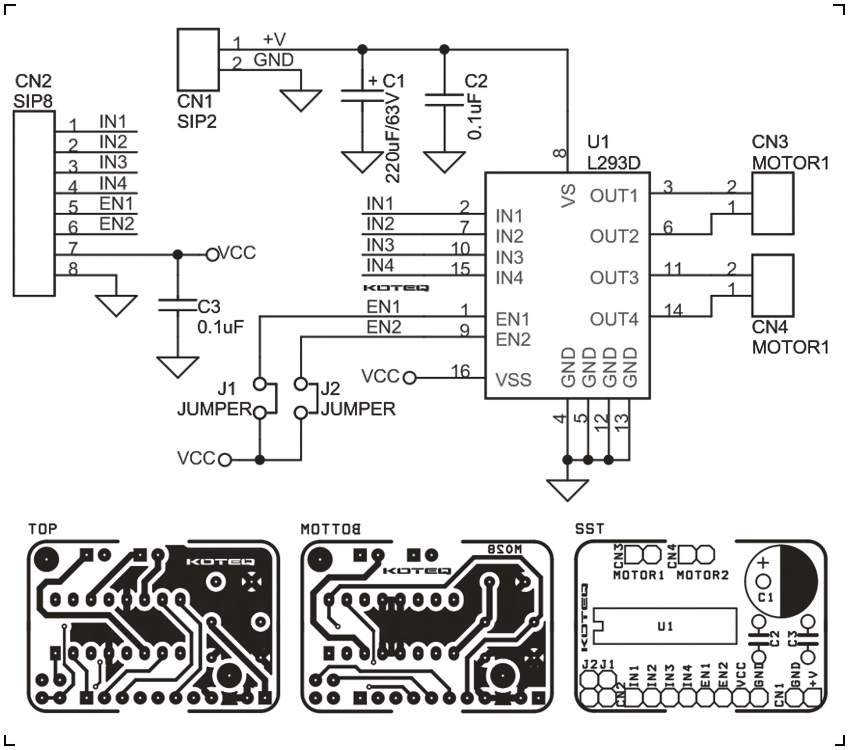 2 on stepper motor driver circuit