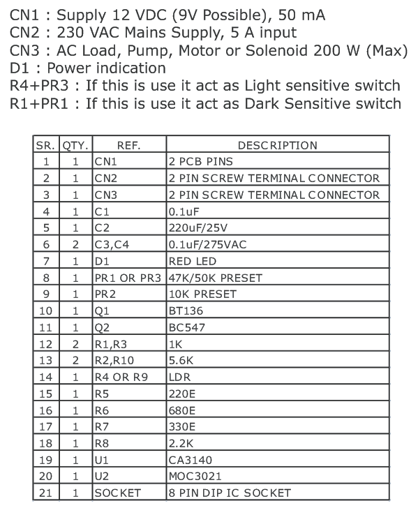 LIGHT SENSITIVE SWITCH FOR INDUCTIVE LOADS (1)