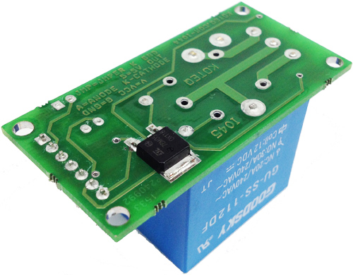 ONE CHANNEL HIGH CURRENT RELAY BOARD WITH ONBOARD 7805 REGULATOR OPTICALLY ISOLATED INPUT  (3)