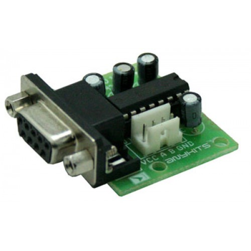 RS 232 MODULE USING MAX232 (3)