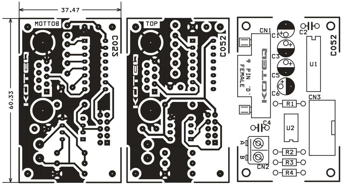RS232 OR RS485 DUAL PROTOCOL BOARD (3)