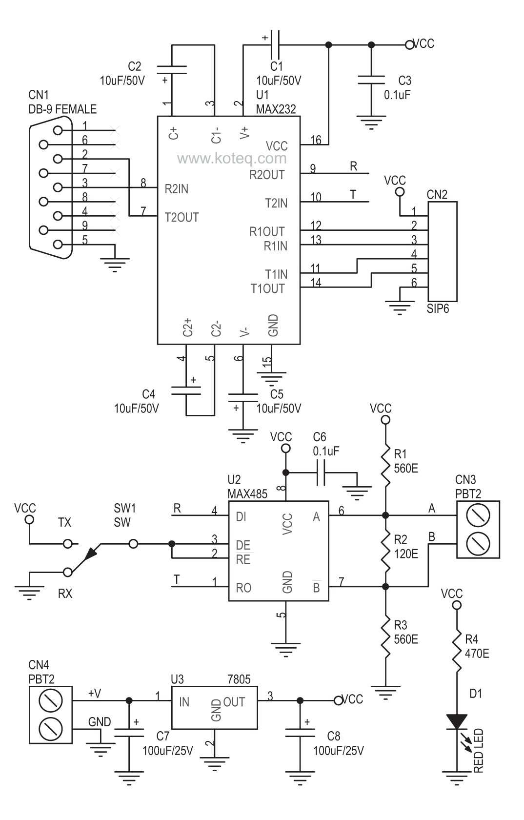 rs232 to rs485 converter diagram   32 wiring diagram
