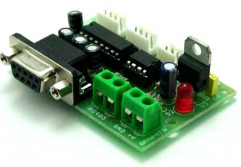 RS232 to RS485 Module USING mAX 485 & MAX232 (1)