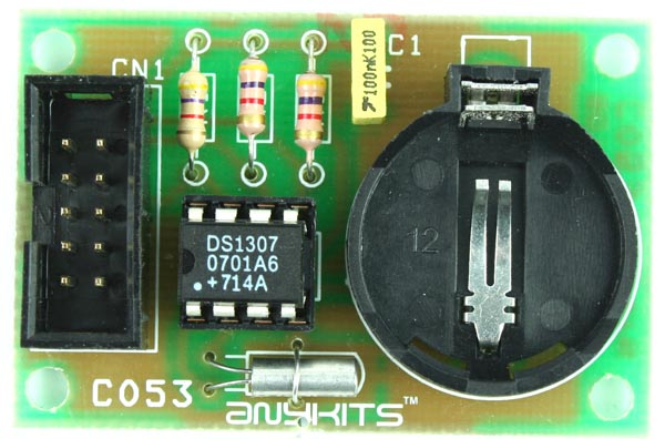 RTC MODULE SCHEMATIC USING DS1307 (1)