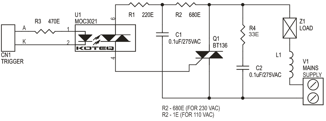 solid state relay for inductive loads 2