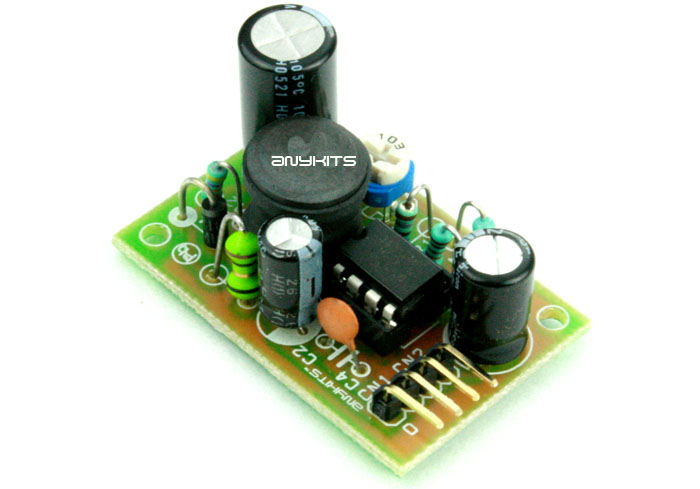 Step Up DC-DC Converter 28V Output from 12V DC IN Using MC34063 (1)