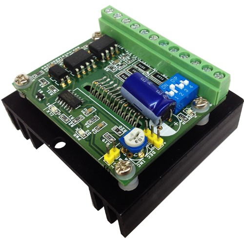 Tb6600 Based 4 5a Bipolar Stepper Motor Driver Circuit