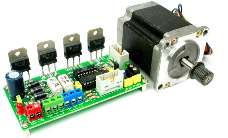 Motor driver stepper archives circuit ideas i projects i for High speed stepper motor