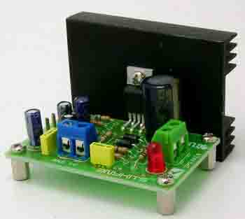 12W Mono Audio Amplifier Circuit (1)