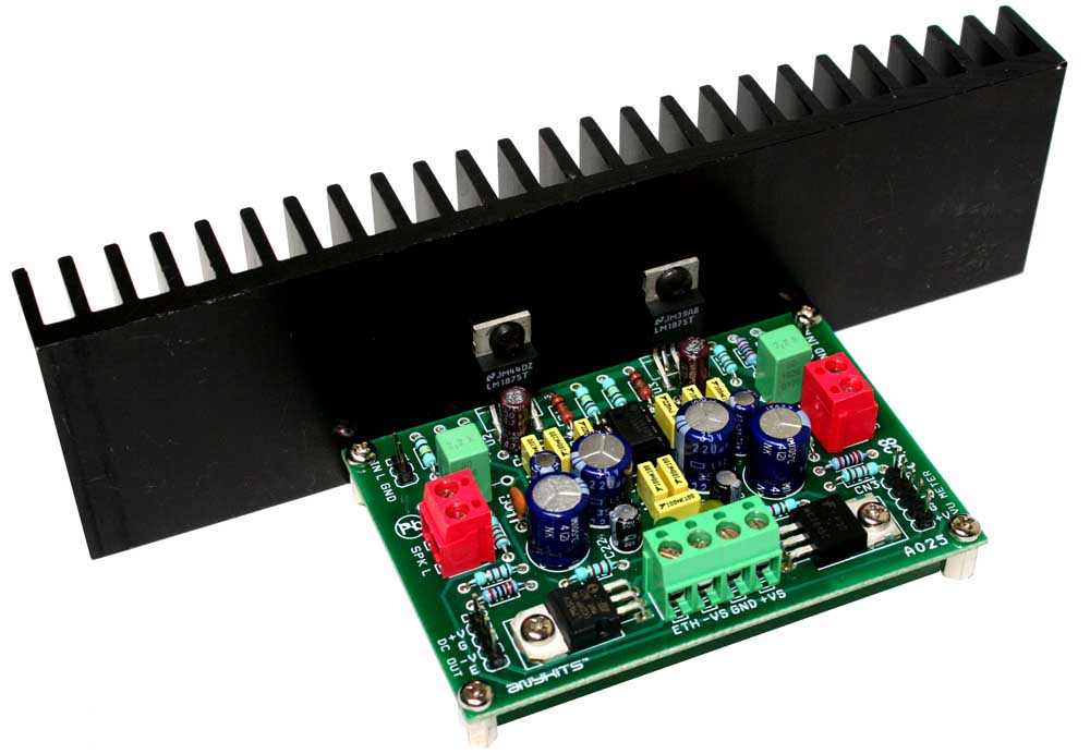20W Proffesional Audio Amplifier Using LM1875 (1)
