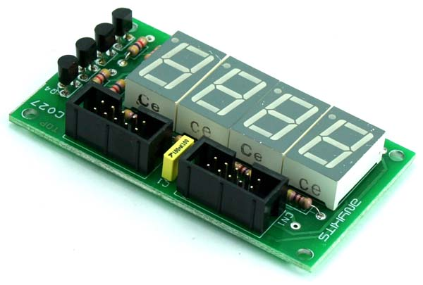 4 DIGIT 7 SEGMENT MULTIPLEXED DISPLAY (2)