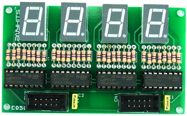 4 DIGIT SPI DISPLAY USING 74HC595 SHIFT REGISTER (1)