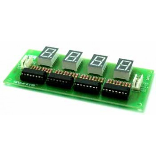 4 Digit 7 Segment Display using 74HC595 PIC