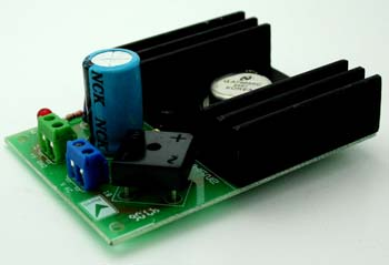 5V 3A Regulated Power Supply Using LM7805 TO3