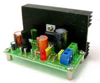 6W MONO AUDIO AMPLIFIER USING TDA2003 (1)