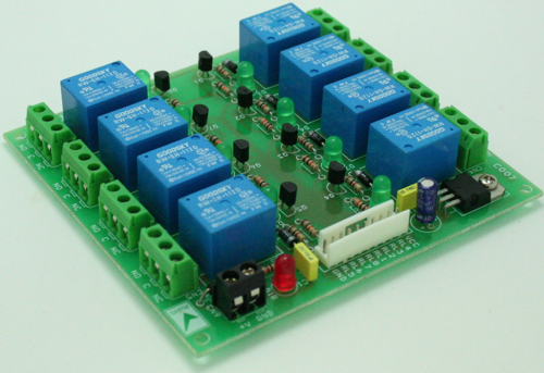 8 CHANNEL RELAY BOARD WITH ON BOARD 5V REGULATOR FOR MICRO-CONTROLLER INTERAFCE (2)