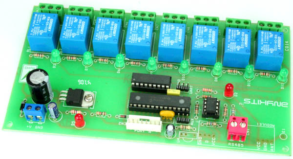 8 CHANNEL RS485 DRIVEN RELAY BOARD (1)