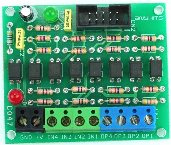 8 Channel Opto-Isolated Board (1)