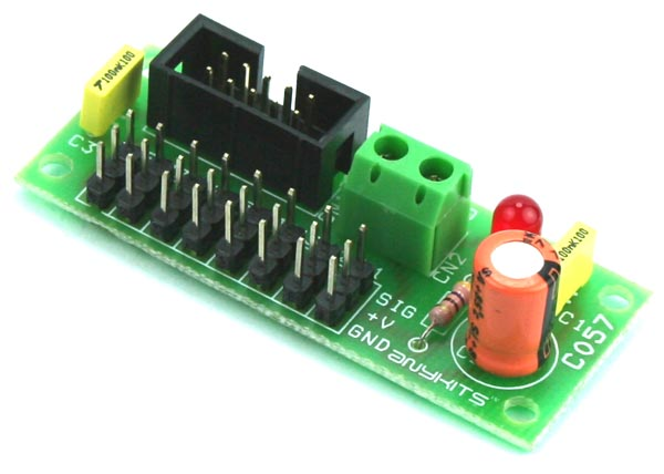 8 Servo Breakout Board for Micro-Controller (1)