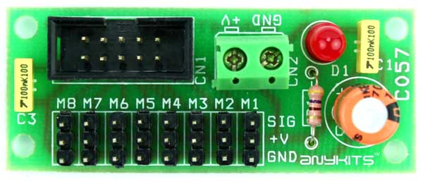 8 Servo Breakout Board for Micro-Controller (2)