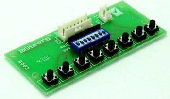 8 TACT AND DIP SWITCH FOR MICRO-CONTROLLER DEVELOPMENT BOARD (1)