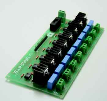 8 channel optically isolated traic board (2)