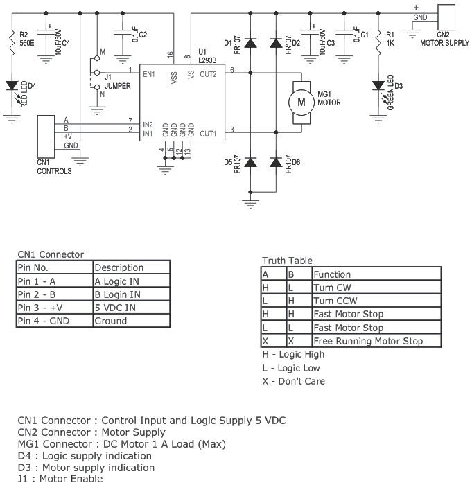 Motor Driver DC Archives - Page 6 of 8 - Circuit Ideas I