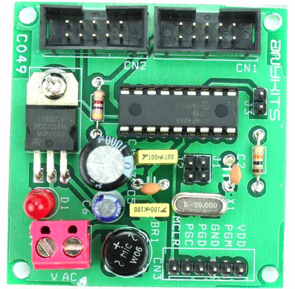 PIC 16F 18PIN PIC DEVELOPMENT BOARD (1)A