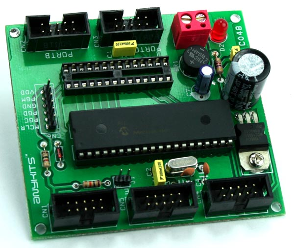 PIC 16F 28-40 PIN DEVELOPMENT BOARD (2)