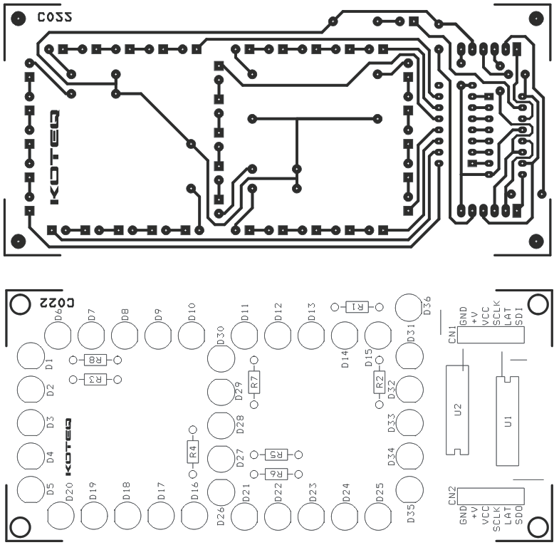 SINGAL DIGIT 7 SEGMENT LED BASED SPI DISPLAY USING 74HC595 (2)